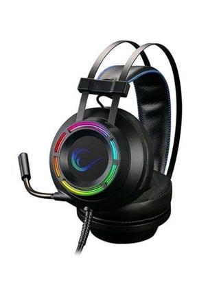 Rampage Rm-19 Forte-y Rgb Usb 7,1 Surround Led Işıklı Mikrofonlu Oyuncu Kulaklığı 1