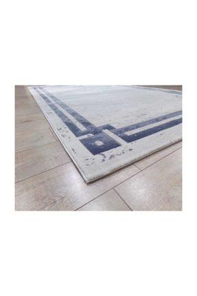 Balat Halı Mavi Çerçeveli Taşlama  Oturma Odası Ve Salon Halısı-200x290 4