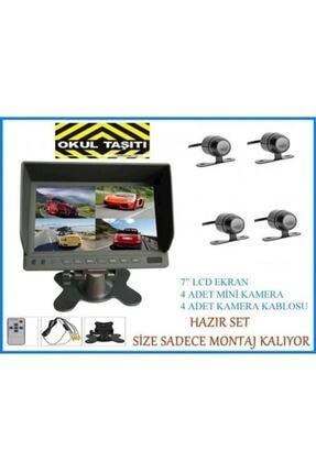 Dilediğin Gibi Audıomax Mx2037r Servis Araçları Için 4 Kameralı Kayıt Sistemi 1