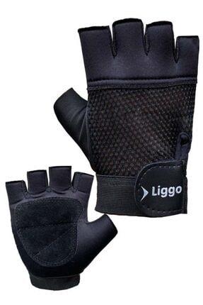 Liggo Hyper Bilek Cırtlı Ağırlık Eldiveni Fitness Eldiveni 0