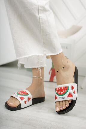 Moda Frato G130.47 Meyveli Kadın Terlik 1
