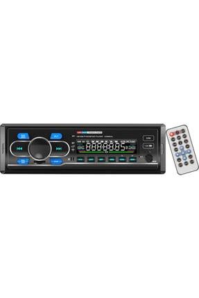 CVS Dn-6310 Araba Oto Teyp Radyo Bluetooth 2 Çift Usb Sd Aux Telefon Şarj Rgb Tuş Işığı App Konrol 4x60 0
