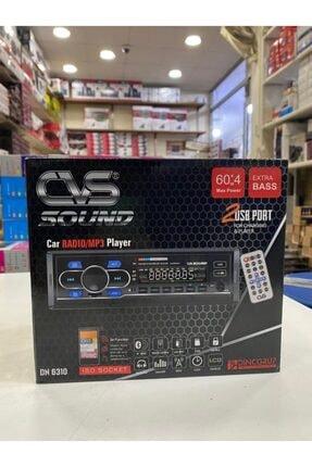 CVS Dn-6310 Araba Oto Teyp Radyo Bluetooth 2 Çift Usb Sd Aux Telefon Şarj Rgb Tuş Işığı App Konrol 4x60 1