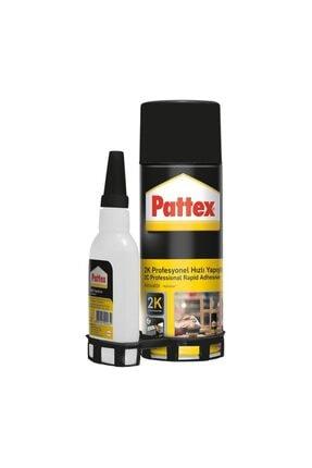 Pattex 2k Hızlı Yapıştırıcı Aktivatör 200 ml.+50 ml. 0