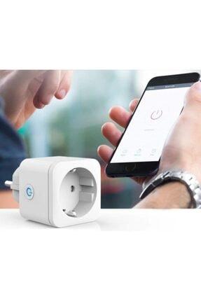 ALPSMART As810eu Akıllı Wifi Priz Uzaktan Kontrol Tuya+smart Life Destekli 2