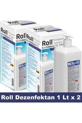 Roll Antiseptik Solüsyon El Ve Cilt Antiseptiği 1 Lt. X 2 Adet 0