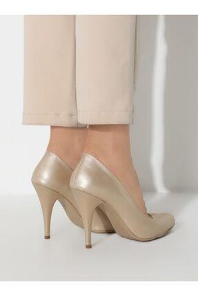ayakkabıhavuzu Kadın Altın Topuklu Ayakkabı  1232756 3