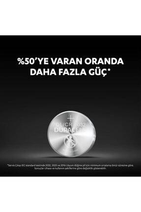 Duracell Özel 2032 Lityum Düğme Pil,  4'lü paket 4
