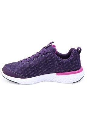 Lescon Kadın Mürdüm Spor Ayakkabı 2