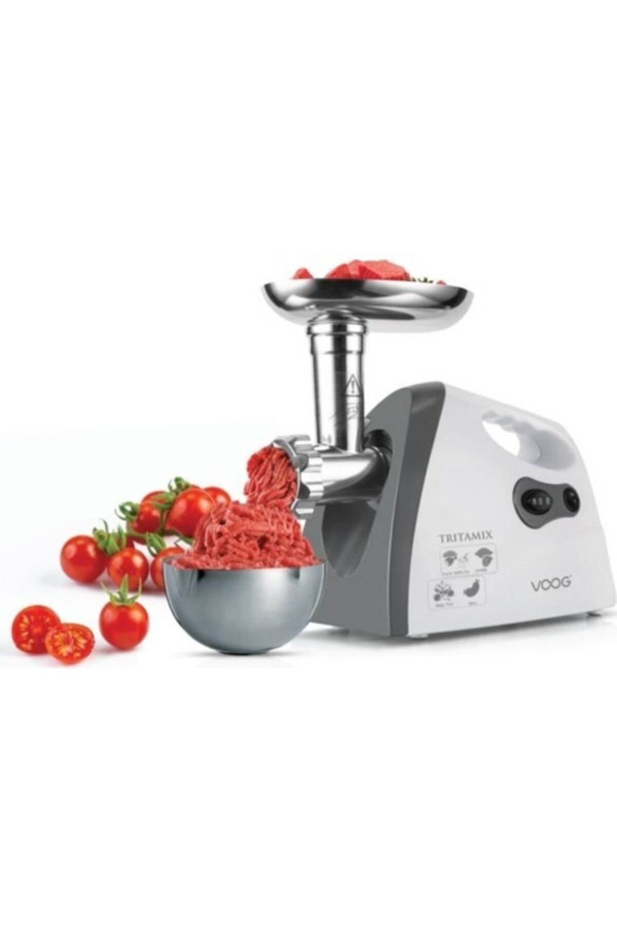 Gurme Elektrikli Kıyma Makinesi Et Sosis Sucuk Aleti 2200w