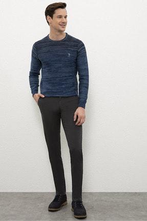Antrasıt Erkek Dokuma Spor Pantolon resmi