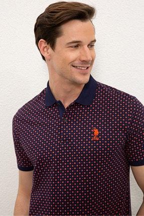 US Polo Assn Nar Cıcegı Erkek T-Shirt G081SZ011.000.1083023 1