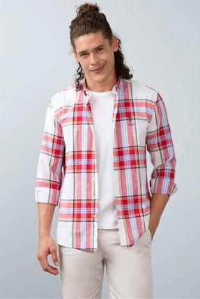 US Polo Assn Erkek Regular Fit Kırmızı Cepsiz Gömlek 1