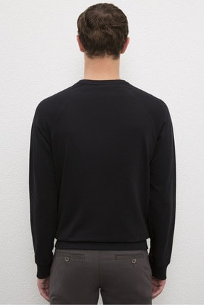 US Polo Assn Sıyah Erkek Sweatshirt 2