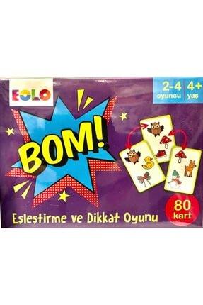 Eolo Yayıncılık Bom! - Eşleştirme Ve Dikkat Oyunu (80 Kart) 0