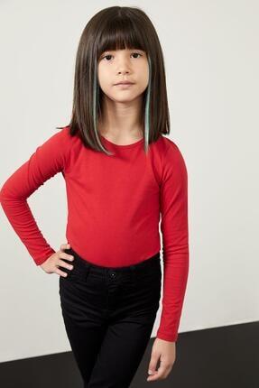 Defacto Kız Çocuk Uzun Kollu Basic Tişört 0