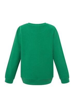 Defacto Erkek Çocuk Basic Selanik Kumaş Sweatshirt 3
