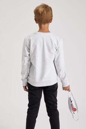 Defacto Erkek Çocuk Baskılı Sweatshirt Ve Maskeli Takım 3