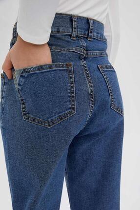 Defacto Erkek Çocuk Mavi Slim Fit Jean Pantolon 3