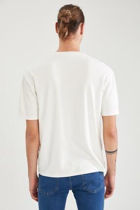 Defacto Oversize Fit Bisiklet Yaka Basic Tişört 4