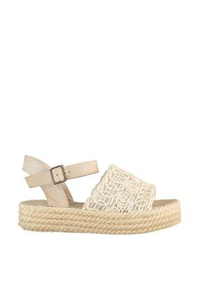 Soho Exclusive Bej Kadın Sandalet 15994 3