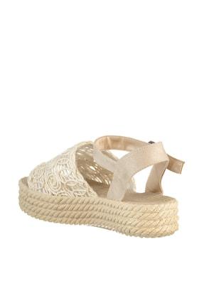 Soho Exclusive Bej Kadın Sandalet 15994 4