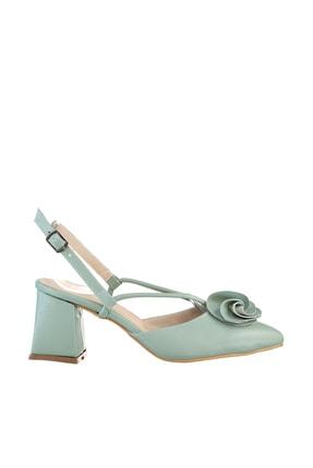 Soho Exclusive Mint Yeşil Kadın Klasik Topuklu Ayakkabı 15991 3