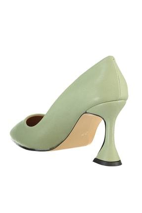 Soho Exclusive Yeşil  Kadın Klasik Topuklu Ayakkabı 15953 4