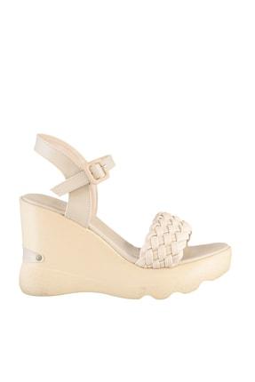 Soho Exclusive Ten Kadın Dolgu Topuklu Ayakkabı 16122 3