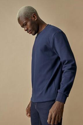 Defacto Oversize Fit Bisiklet Yaka Pamuklu Basic Sweatshirt 2