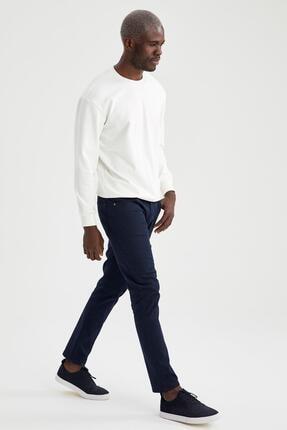 Defacto Oversize Fit Bisiklet Yaka Pamuklu Basic Sweatshirt 4