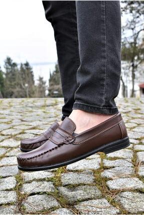 ALBİDÜNYA Erkek Kahverengi Günlük Ayakkabı 2