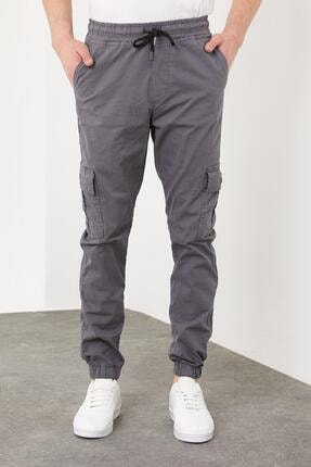 Enuygunenmoda Erkek Slim Fit Jogger Pantolon Antrasit 2