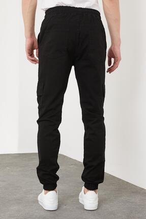 Enuygunenmoda Erkek Slim Fit Jogger Pantolon Siyah 4
