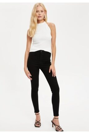 Defacto Anna Yüksek Bel Super Skinny Fit Jean Pantolon 1