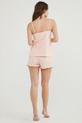 Penti Pembe Berry Love Atlet Şort Pijama Takımı 1