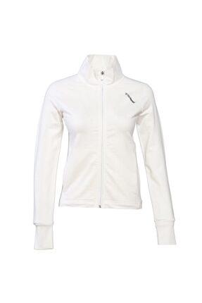 HUMMEL Unisex Beyaz Zip Jacket 1