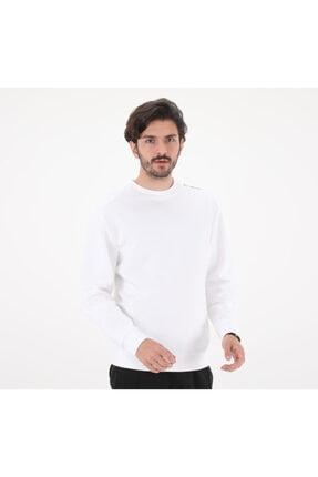 Picture of 585768-02 Rad Cal Crew White Erkek Sweatshirt Beyaz
