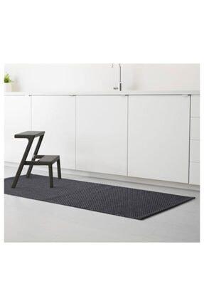 IKEA Koyu Gri 80x200 Cm Halı Meridyendukkan Yıkanmaz Halı Iç-dış Mekan 2