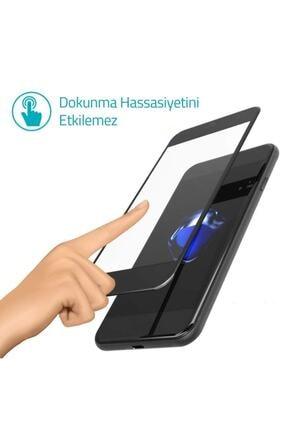 Glasslock Iphone 8 Plus 7 Plus Tam Kaplayan Kırılmaz Cam Koruyucu Siyah 5d 9d 1