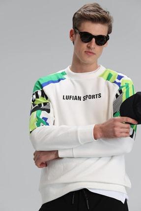 Picture of Blue Sweatshirt Kırık Beyaz
