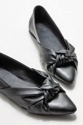 Elle Kadın Siyah Babet 2