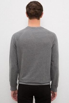 US Polo Assn Grı Erkek Sweatshirt 2