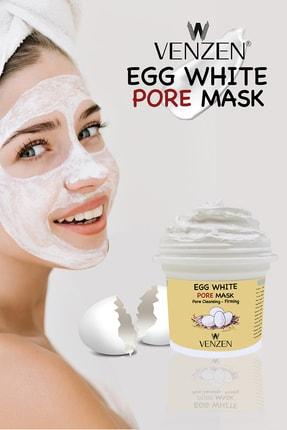 Venzen Egg White Pore Gözenek Maskesi (125g)-gözenek Temizleyici,sıkılaştırıcı Maske 1