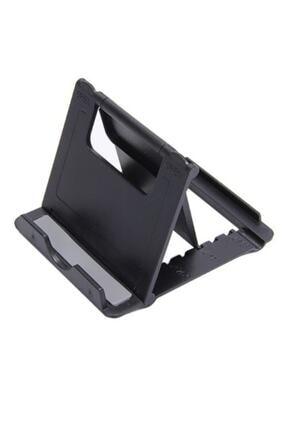 HADRON Ayarlanabilir Katlanır Masaüstü Plastik Mini Portatif Taşınabilir Cep Telefonu Tablet Standı Tutucu 3