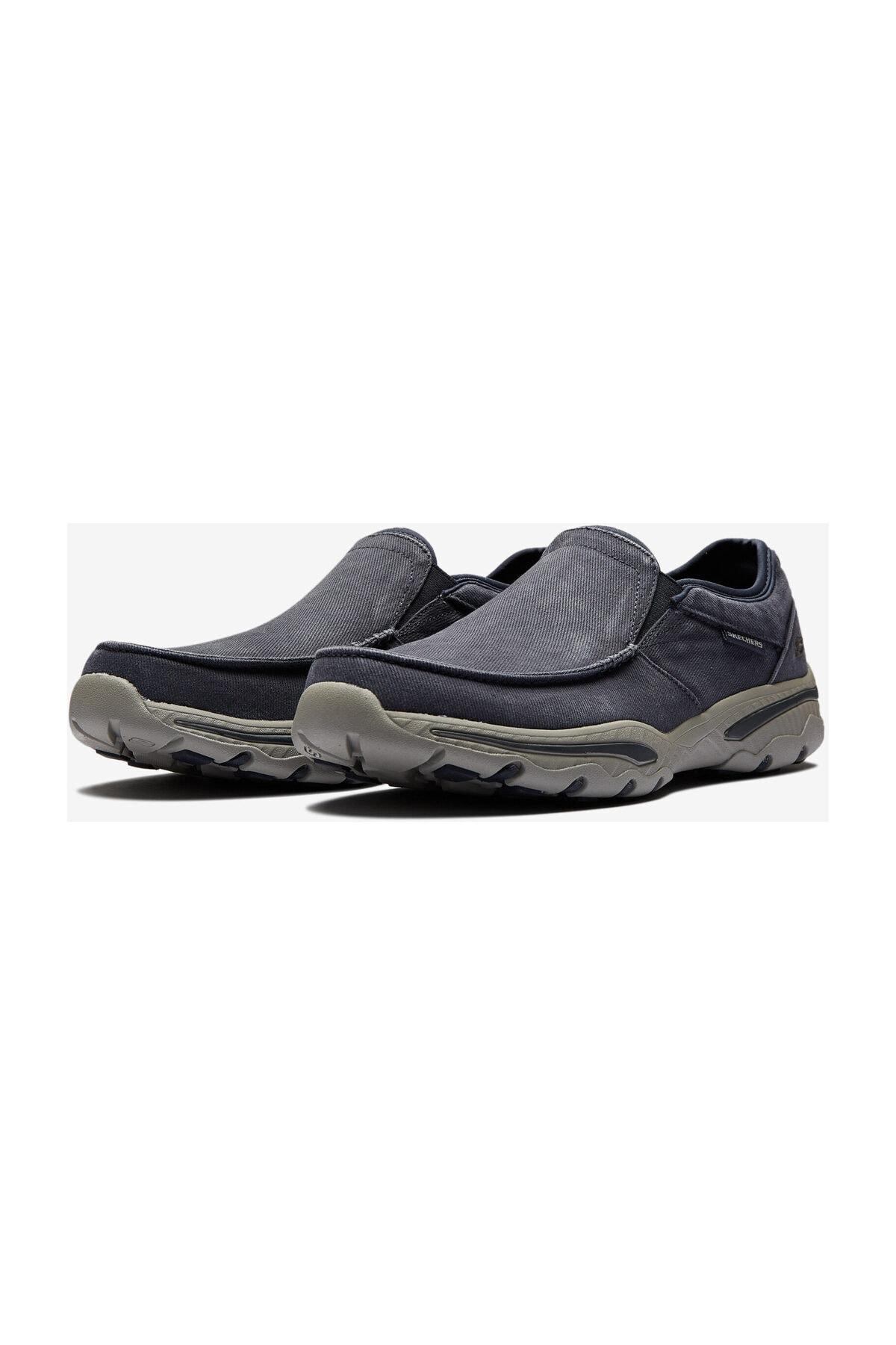 Skechers CRESTON- MOSECO Erkek Lacivert Günlük Ayakkabı