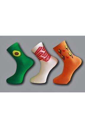 Çoraphane Kolej Çorap 10 Çift 3