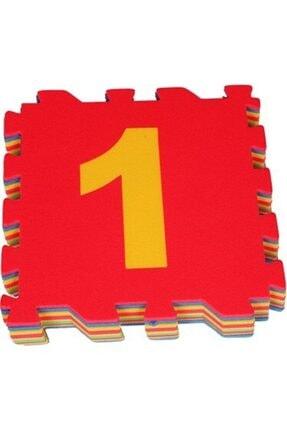 AVDA 9 Parça Büyük Boy Rakamlı Sayılı Eva Oyun Karosu Yer Matı Puzzle Yapboz 3