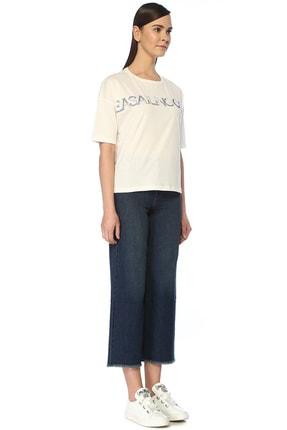 Beymen Club Sea Sailing Ocean Beyaz Taş Baskılı T-shirt 1