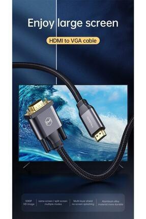Mcdodo Hdmi To Vga Dönüştürücü Kablo 2 Metre 1